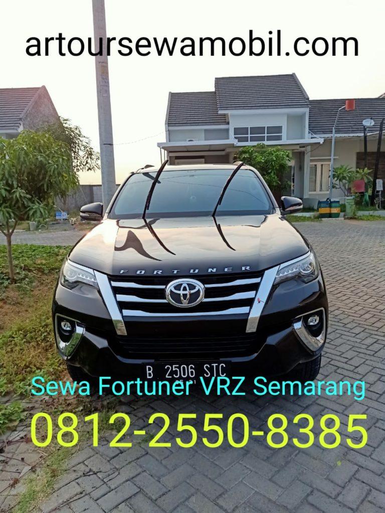 Sewa Fortuner VRZ Semarang Artour Depan