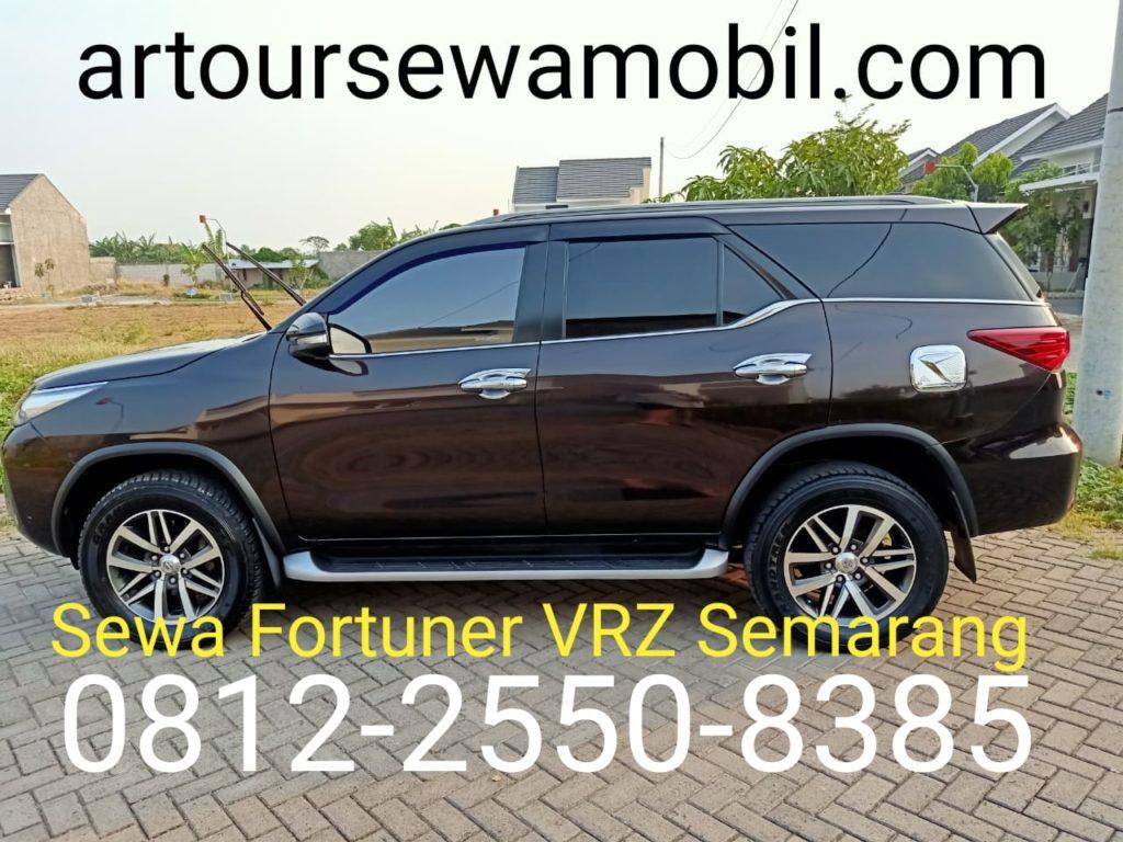 Sewa Fortuner VRZ Semarang Artour Samping